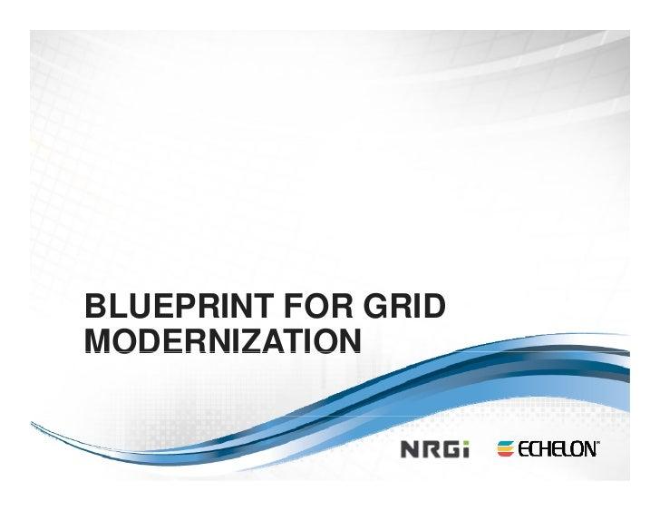 Blueprint for Grid Modernization