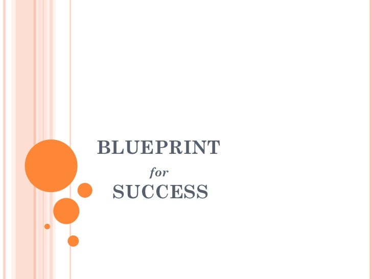Blueprint For Success   Copy