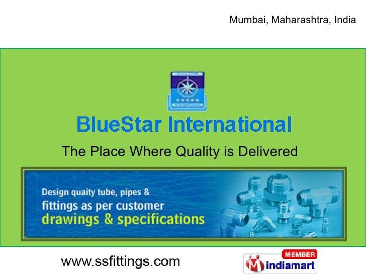 Tube Fittings by Bluestar Exporter Non Ferrous Fittings,