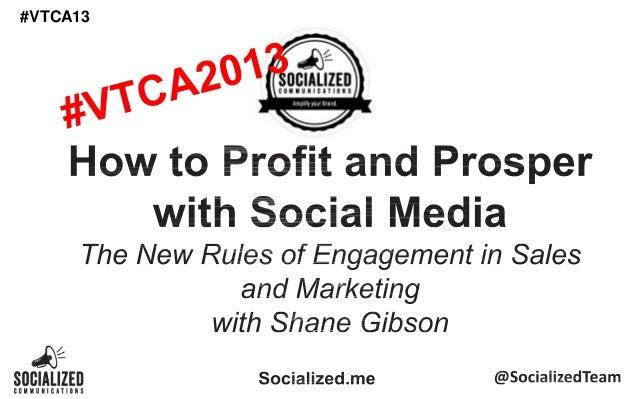BlueStar Canada Social Media Keynote #vtca13