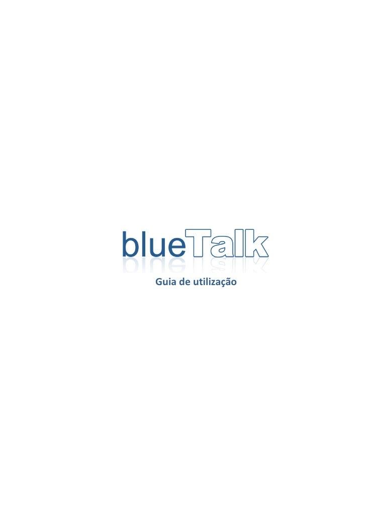Blue talk guia-de_utilizacao