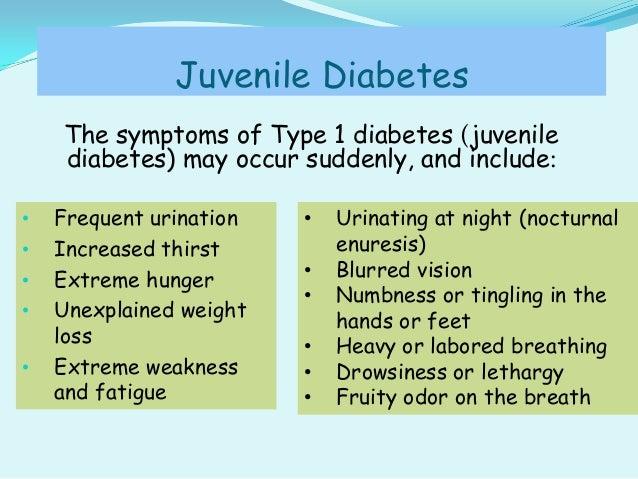 informative essay juvenile diabetes