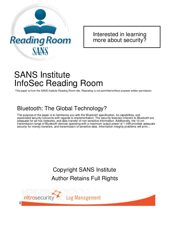 Interested in learning                                                                   more about security?SANS Institut...