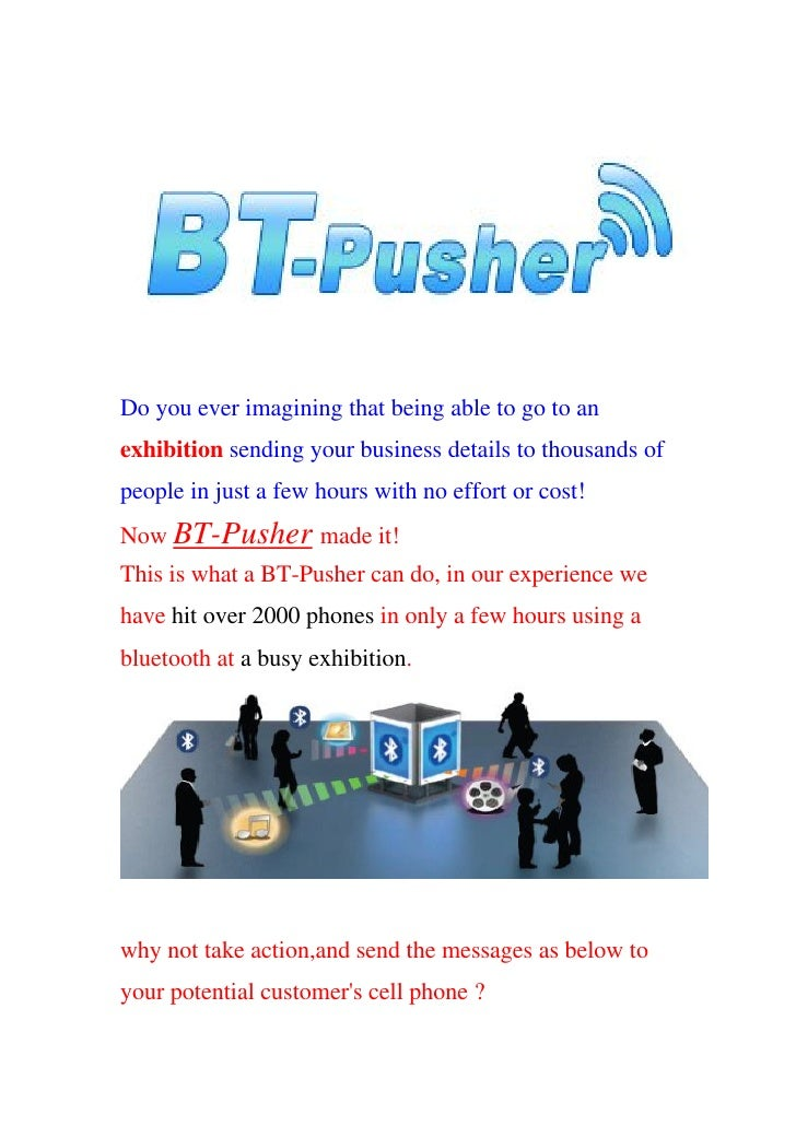 Bluetooth marketing device   bt pusher pro+ with gprs-2