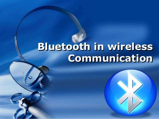 Company LOGOBluetooth in wirelessCommunication