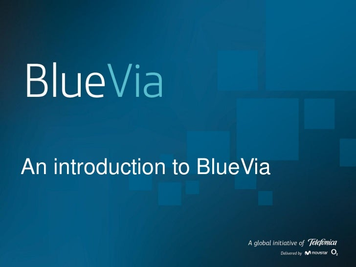 An introduction to BlueVia