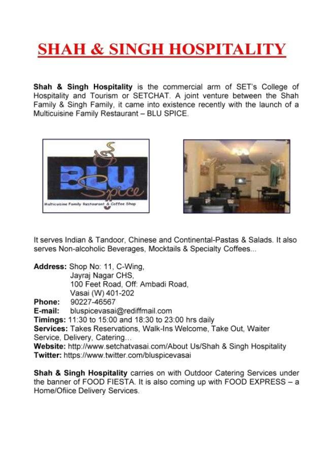 BLU SPICE - Multicuisine Family Restaurant
