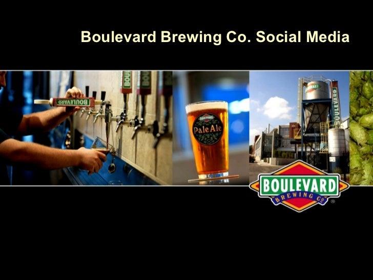 Boulevard Brewing Co. Social Media