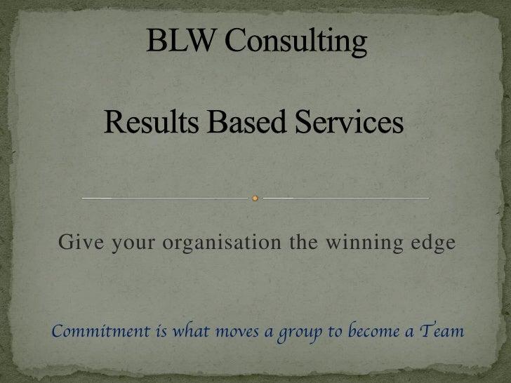 BLW Consulting Presentation For Linkedin   V2