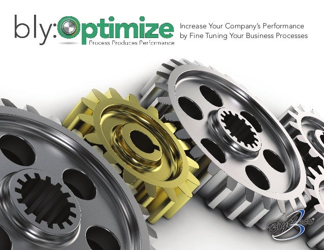 Increase Your Company's Performanceby Fine Tuning Your Business Processes