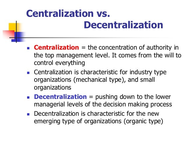 centralized organizational structure essay Organizational structure review of syngenta essay writing service custom organizational structure review of syngenta essay writing it is recommended that the organization adopt a hybrid system of organizational structure -which integrates a centralized and decentralized organizational.