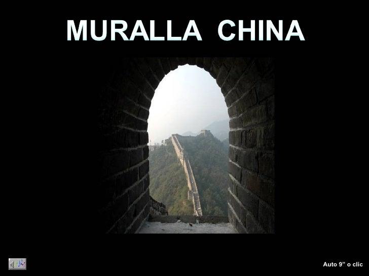 Bm 384 Muralla China