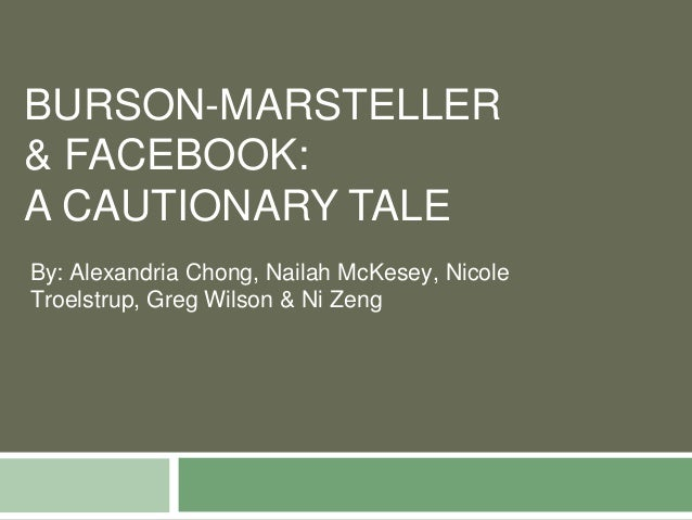 Burson-Marsteller and Facebook: A Public Relations Ethics Case Study