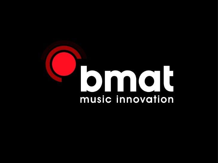 Bmat ELLA Music Hack Day Barcelona