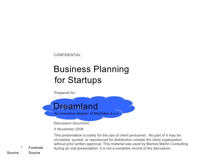 Bmc Guide On Business Planning