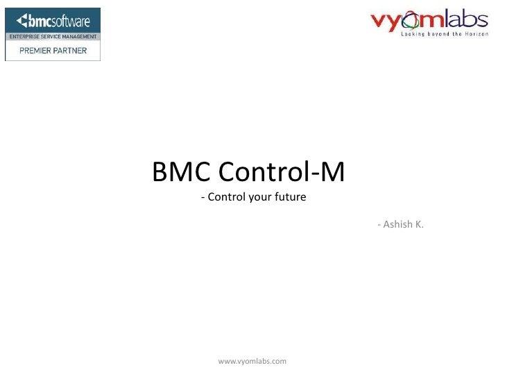 BMC Control M Advantage