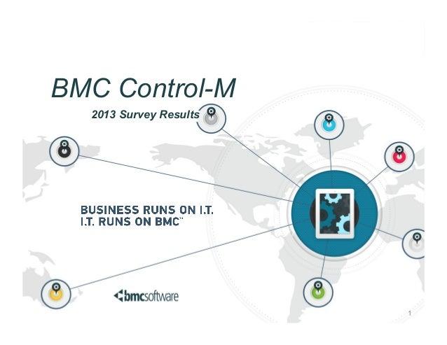 BMC Control-M 2013 Survey Results