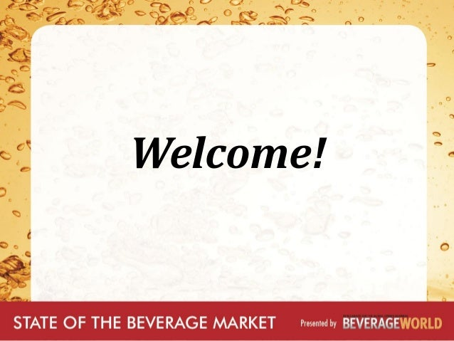 Beverage Marketing Corporation State of the Beverage industry 2013