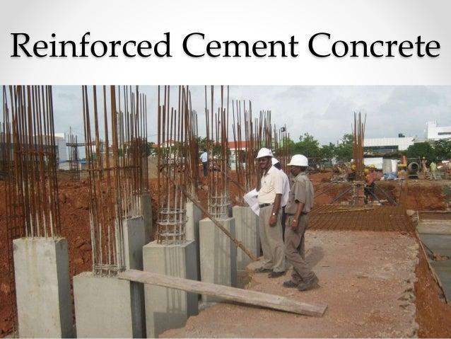 Reinforced cement concreteReinforced Cement Concrete ...