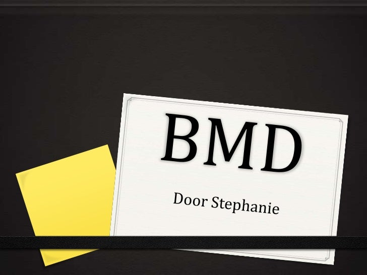 BMD<br />Door Stephanie<br />