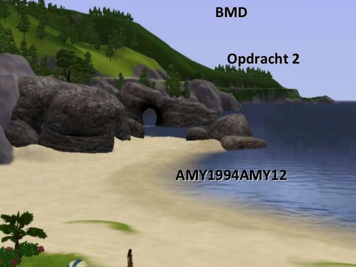 BMD Opdracht 2 AMY1994AMY12