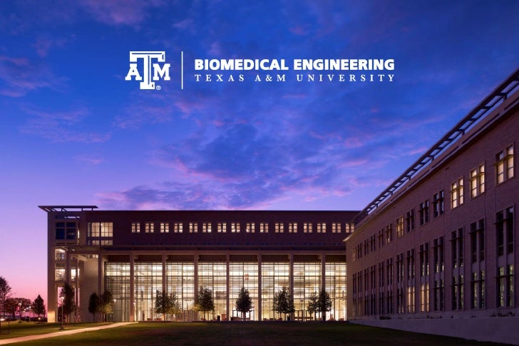 Biomedical Engineering at TAMUQuick Facts•   17 Tenure/Tenure Track Professors•   4 Research Professors, 11 Jointly appoin...