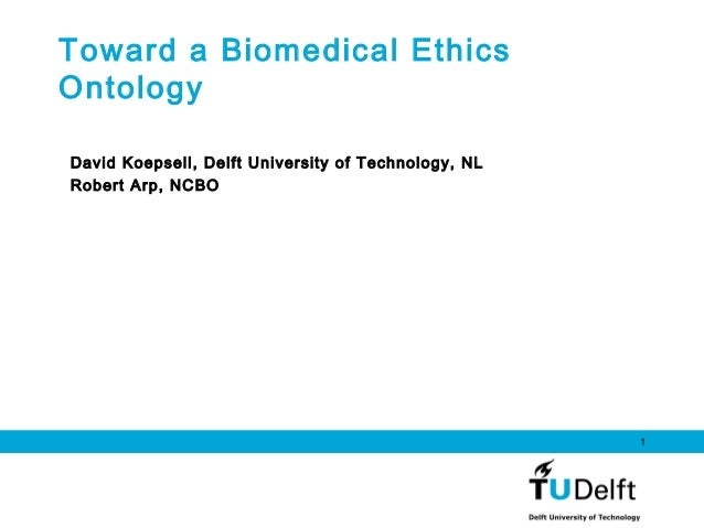 Biomedical Ethics Ontology