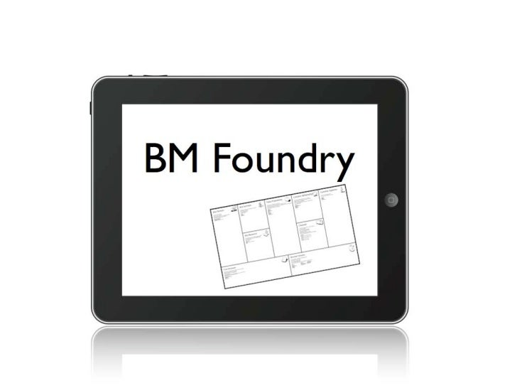Business Model Foundry (using the Minimal Viable Product concept)