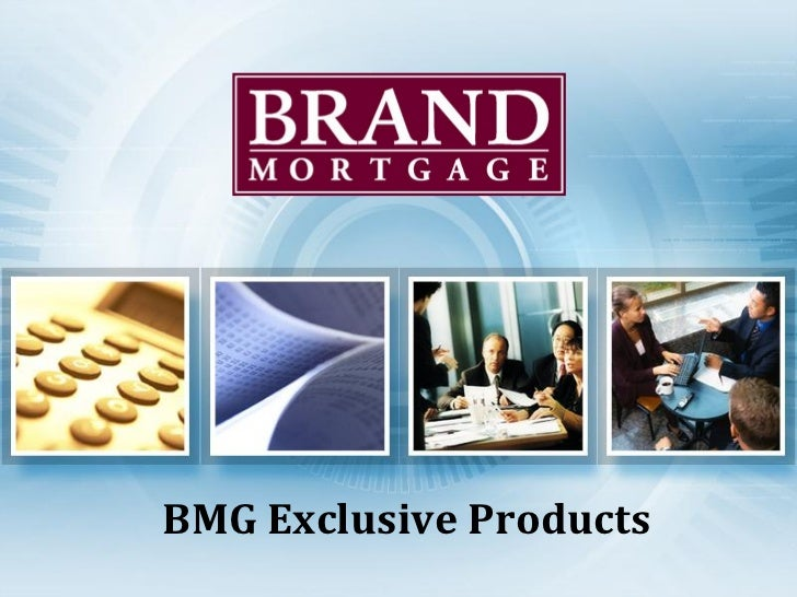 BMG Exclusive Products