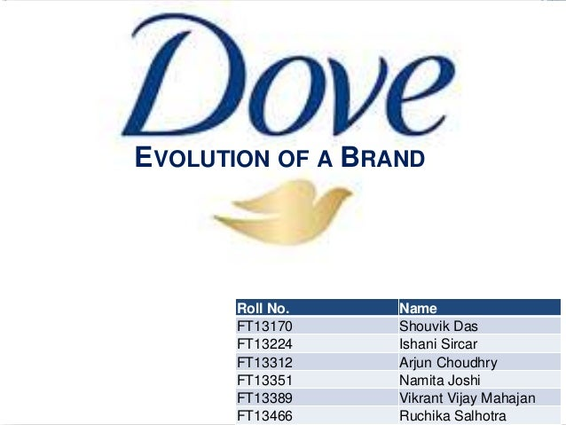EVOLUTION OF A BRAND       Roll No.   Name       FT13170    Shouvik Das       FT13224    Ishani Sircar       FT13312    Ar...