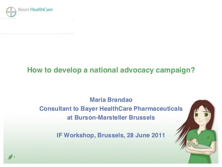 Bm how to leverage advocacy at national level 28.6.2011
