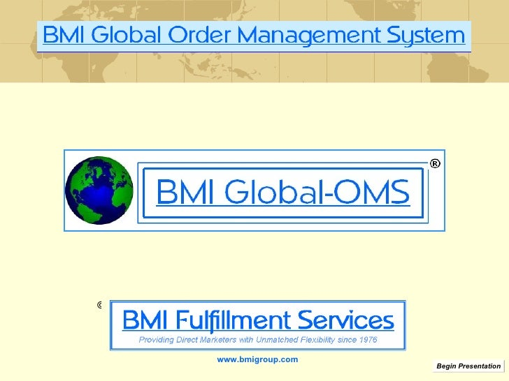 www.bmigroup.com Begin Presentation ©