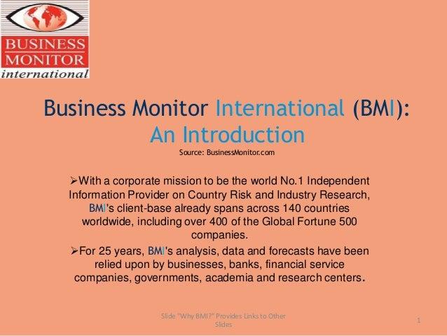 Bmi client introduction