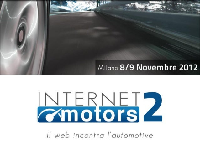 I brand automotive  sui social media    Vincenzo Cosenza