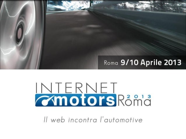 I brand automotive  sui social media                Relatore: Vincenzo Cosenza