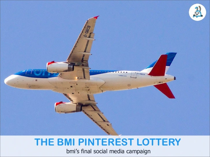 THE BMI PINTEREST LOTTERY     bmi's final social media campaign