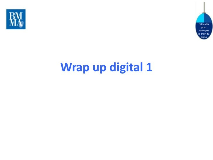 Wrap up digital 1