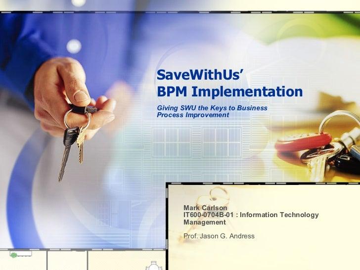BPM Implementation (downloadable)