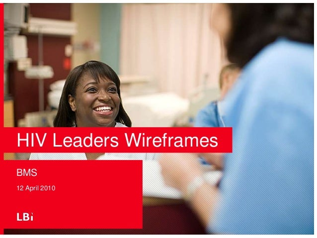 BMS - HIV Leaders Wireframes