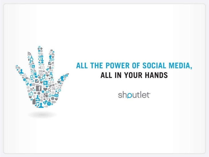 Shoutlet: Who We Are       The industry's most comprehensive Enterprise Social Marketing Platform        to publish, engag...