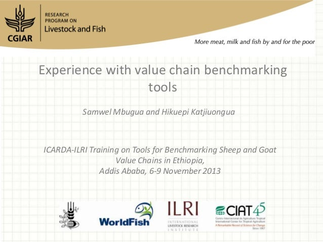 Experience with value chain benchmarking tools Samwel Mbugua and Hikuepi Katjiuongua  ICARDA-ILRI Training on Tools for Be...