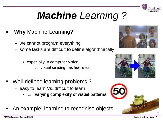 Machine Computer Vision in Computer Vision …