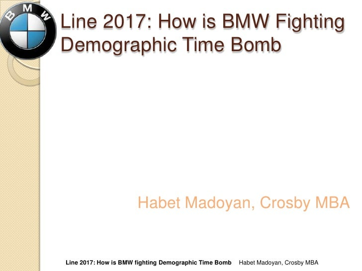Line 2017, How is BMW fighting demographic time bomb