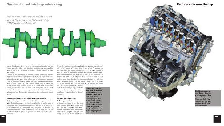 Grundmotor und Leistungsentwicklung                                                                                       ...