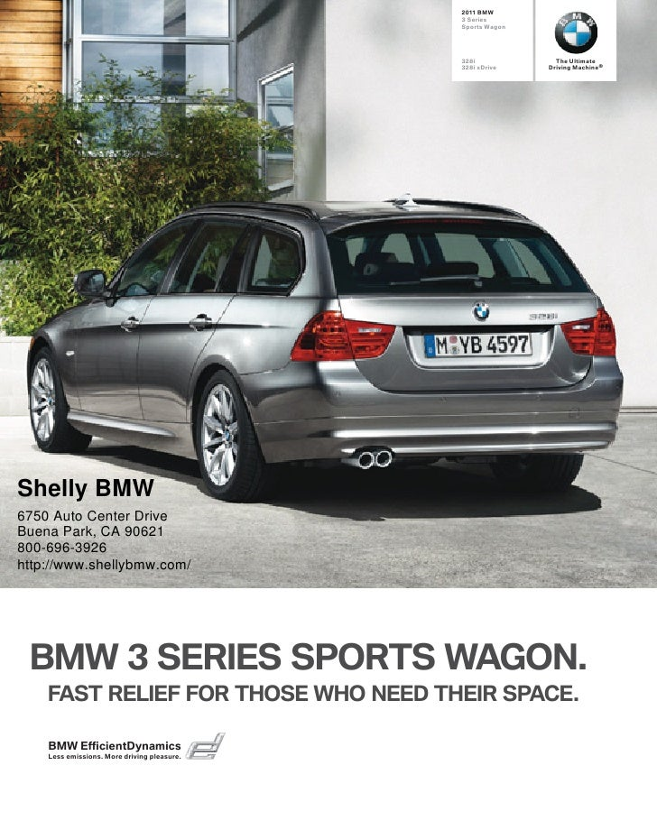 2011 Shelly BMW 328i xDrive Sports Wagon Los Angeles CA