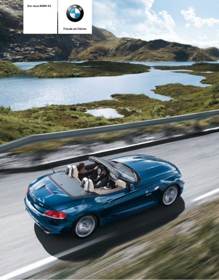 Der neue BMW Z                  Freude am Fahren