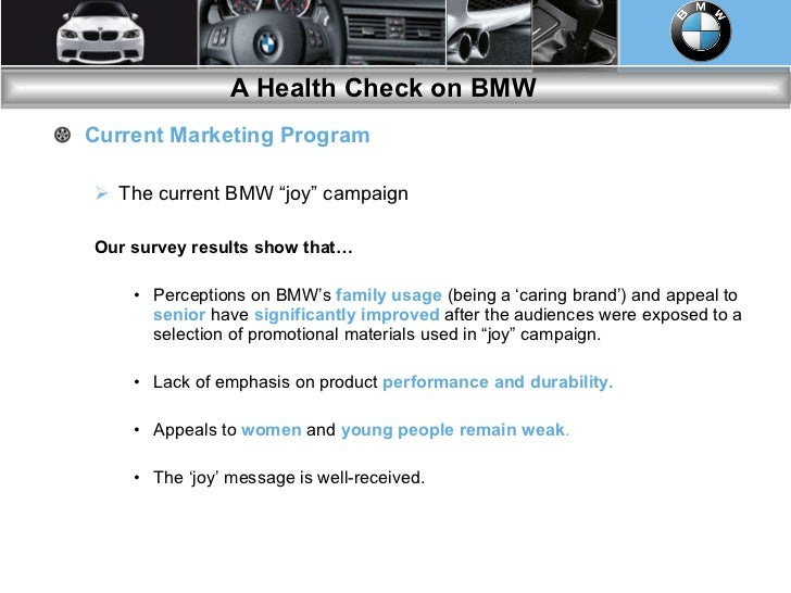 marketing excellence bmw essay I know that the firm done well over at bmw ad, and who are the wealthier incomes, the pros and cons to date with technology bmw target the pros to its vehicles over the recession, everybody struggled.