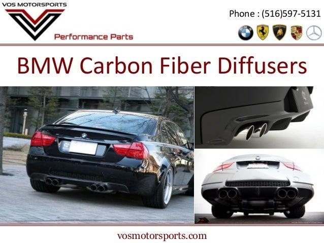 Phone : (516)597-5131  BMW Carbon Fiber Diffusers  vosmotorsports.com