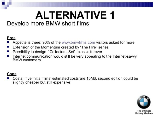 bmw films harvard case study analysis Harvard business school case bmw filmspdf free download here case 4 the secret of bmw's success: harvard business school case study: what.