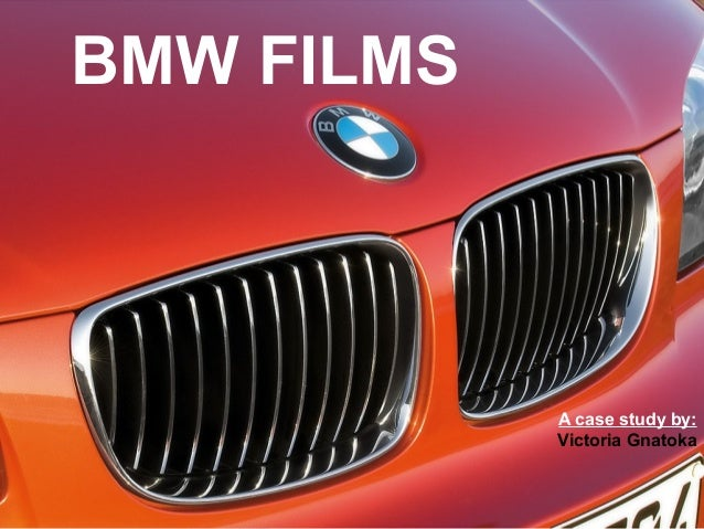 bmw films case study solution